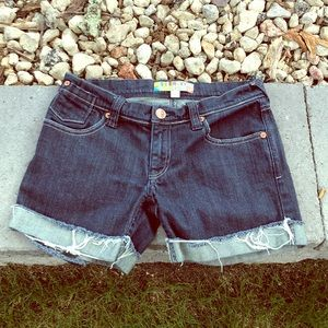 Roxy blue jean shorts